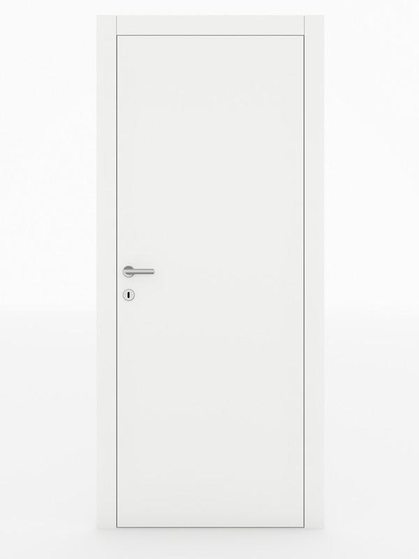 Wood porta interna laccata cerniere a scomparsa villare - Porte da interno economiche ...