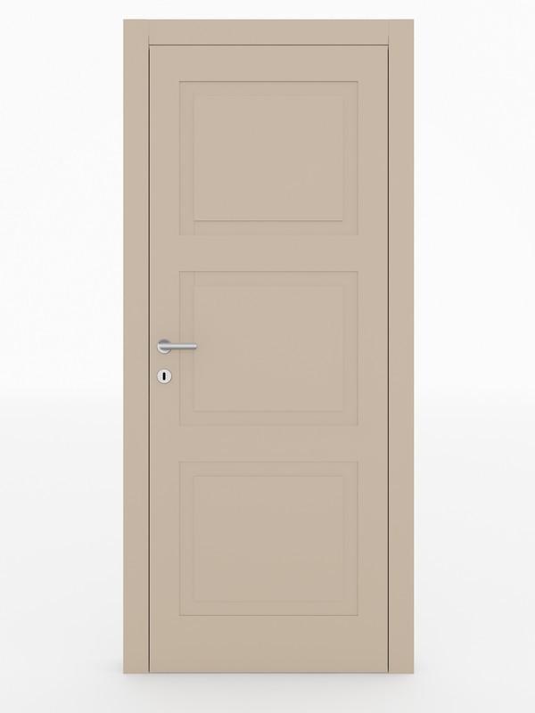 Figura - Porta pantografata cerniere a scomparsa -VillaRe